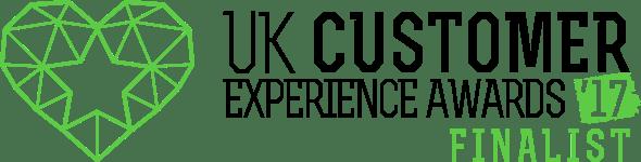 Finalist: UK Customer Experience Awards 2017