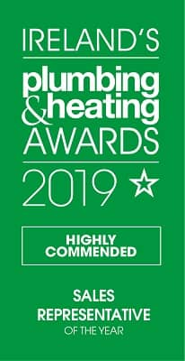 Ireland's Plumbing and Heating Awards 2019 - Sales Representative of the Year Highly commended: Richard Louth