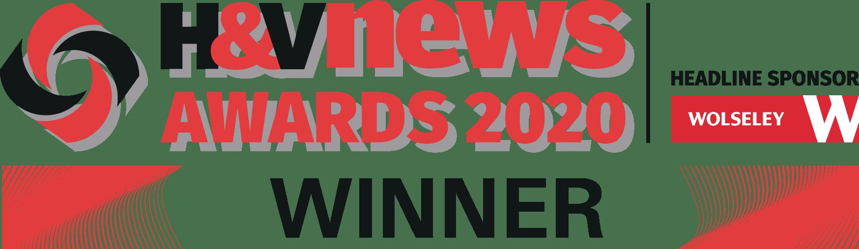 H&V News Awards 2020 Winner