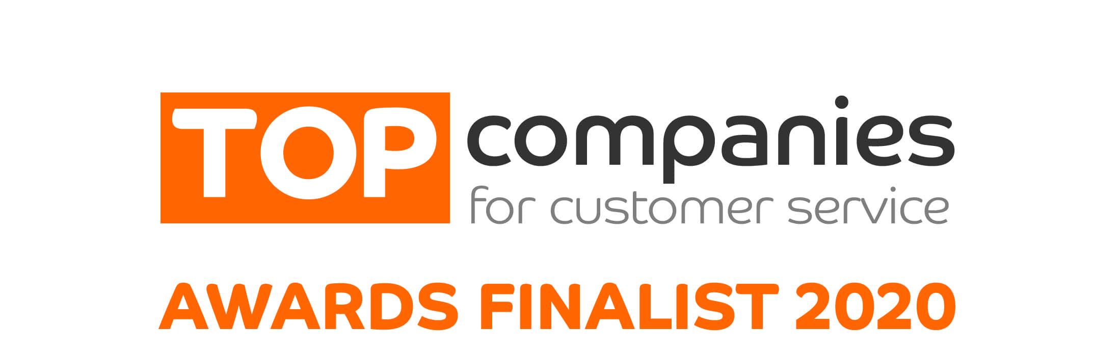 Top companies awards finalist 2020