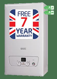 Baxi Combi 636 LPG boiler
