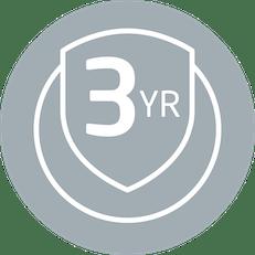 3yr warranty icon