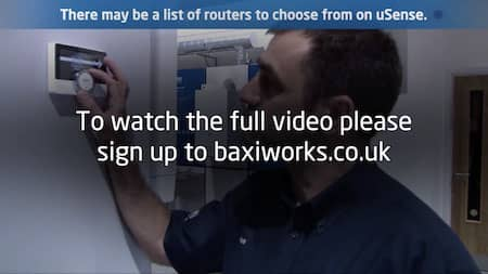 Baxi uSense not connecting to Wifi
