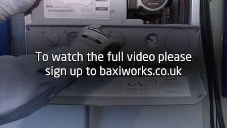How to set a gas valve