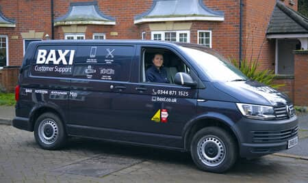 Book a repair with a Baxi engineer