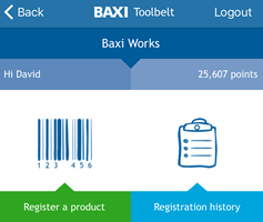 Baxi makes it easy - join Baxi Works and download the Toolbelt app today
