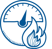 Calculate the gas flow rate with the Baxi Toolbelt App