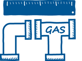Calculate the multi-drop gas pipe size for your next project with the Baxi Toolbelt app