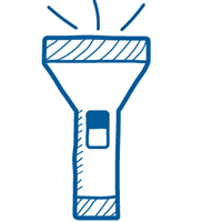 Use the torch function on the Baxi Toolbelt app to make your next job easier