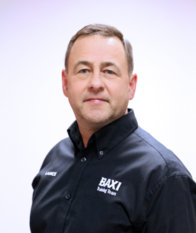 Meet Baxi Trainer Lance Rowley