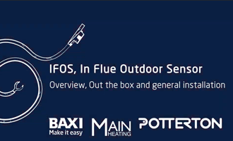 IFOS, In Flue Outdoor Sensor